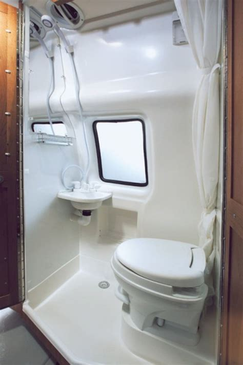 small rv with bathroom small rv bathroom toilet remodel ideas 49 decomg