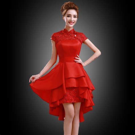 gambar model gaun brokat modern 15 model gaun pesta pendek terbaru