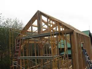 Gable End Wall Framing Frame Roof Overhang Awesome Gable Roof For Home Exterior