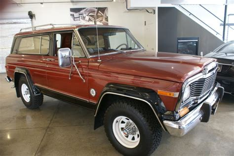 1979 jeep cherokee chief 1979 jeep cherokee chief s limited stock 120706 for sale