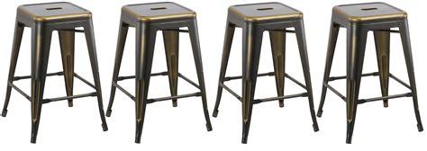 vintage wood and metal bar stools btexpert 24 inch industrial metal vintage stackable