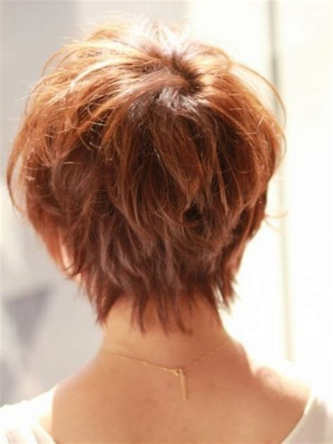 hairstyles seen from the back short haircuts back view