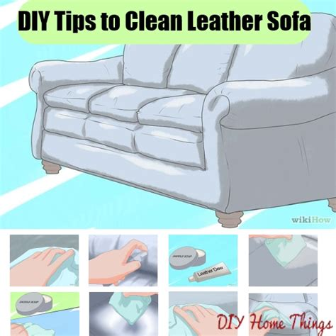 how to clean a leather sofa at home thesofa