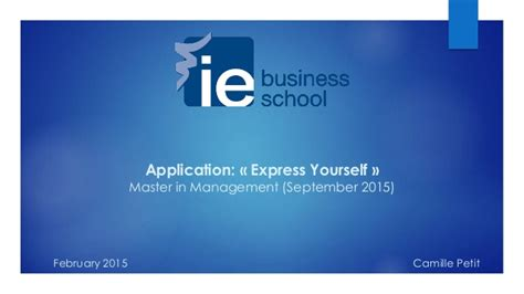 Business Mba Subject by Subject F Ie Business School Application