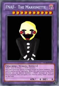 The marionette fnaf