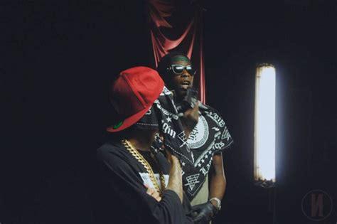 hookha tyga on set of tyga young thug s hookah video shoot