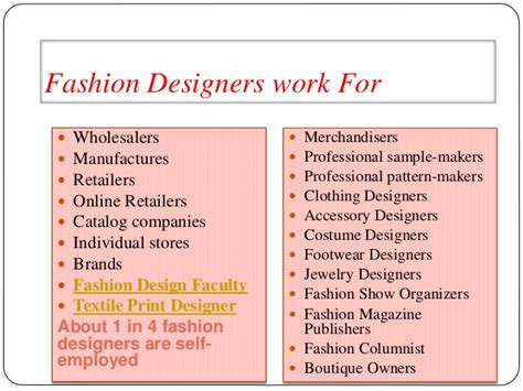 fashion design qualities fashion and interior design career