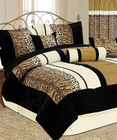 Animal Print Luxury Comforter Set Luxury Animals And Cheetah Print Bedding