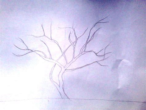 tutorial gambar pohon se pohon dengan pensil anitaikan s blog
