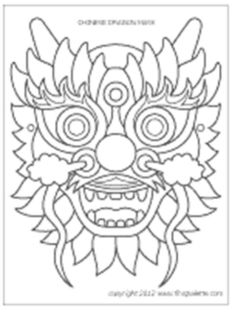 new year coloring mask mask printable templates coloring pages