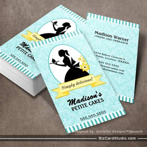 cupcake business cards templates cupcake business cards