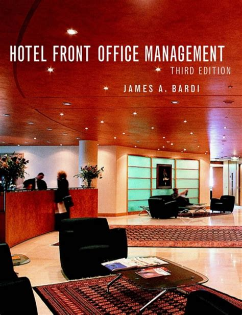 layout front office department hotel j a bardi hotel front office management 3rd edition1