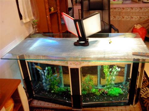 Meja Tamu Aquarium jual aquarium meja unik ruang tamu atau meja penerima tamu flash ud