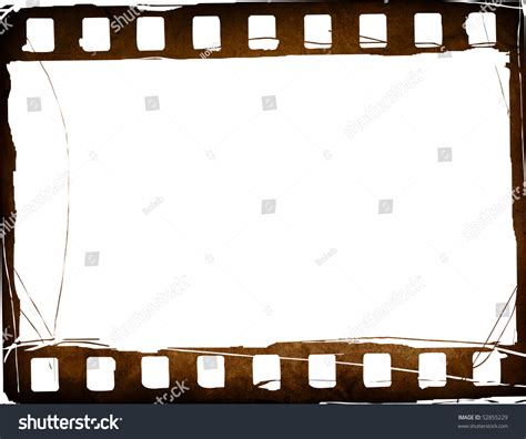 aged wallpaper with film strip border stock illustration great film strip textures backgrounds frame stock