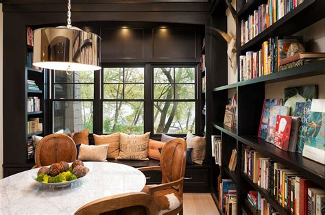 reading room 25 dining rooms and library combinations ideas inspirations