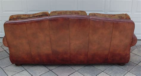 robb and stucky leather sofa burchard galleries sunday july 24 2011 lot 209