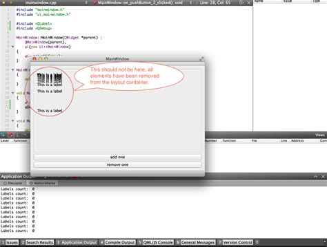 layout qtoolbar qt qscrollarea and qvboxlayout issues with dynamically