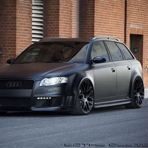 murdered out audi a4 murdered out family audi sick rollin pinterest