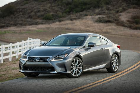 used lexus coupe 2016 lexus rc performance review the car connection