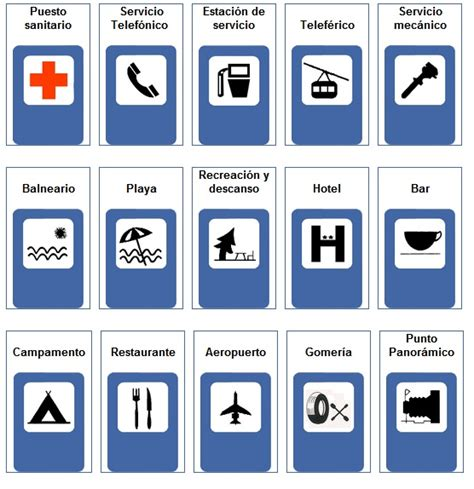 imagenes de señales informativas en ingles se 241 ales informativas de transito individuales imagui