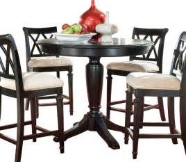 Traditional Dining Tables American Drew Camden Counter Height Table In Black Traditional Dining Tables By