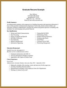 Resume For College Student by Gallery For Gt Sample College Student Resume With No Experience