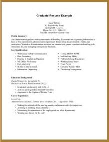 Sample Resume Templates For College Students College Student Resume No Experience Sample Resume Sample