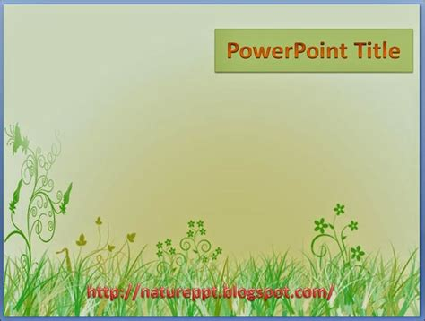 grass powerpoint template this green grass powerpoint template for a nature