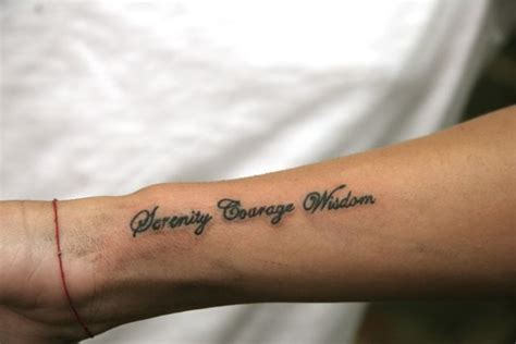 serenity courage wisdom tattoo courage symbol tattoos pictures to pin on