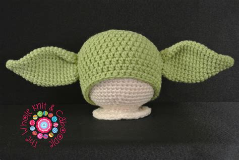 knit yoda hat pattern yoda hat all sizes pdf pattern on luulla