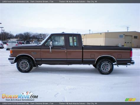 1989 ford f150 chestnut brown 1989 ford f150 extended cab photo 8