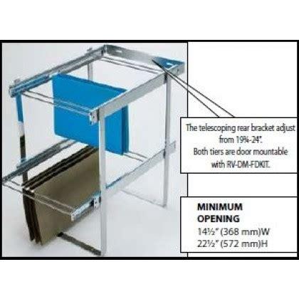 file drawer hardware kit two tier file drawer system ras fd kit rev a shelf