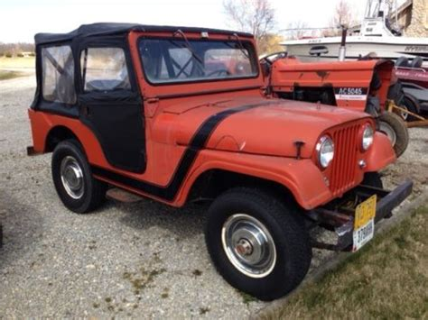 1960 Jeep Willys Purchase Used 1960 Willys Jeep Cj5 In Arcanum Ohio