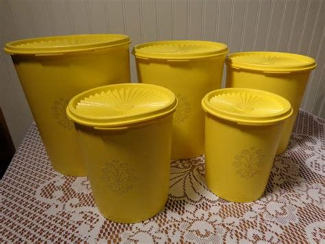 129 best yellow canisters images on pinterest vintage kitchen 194 best images about vintage tupperware on pinterest