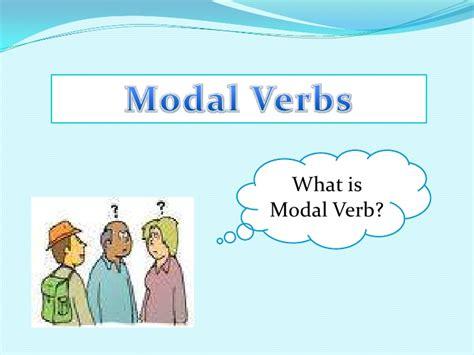 modal verbs auxiliaries