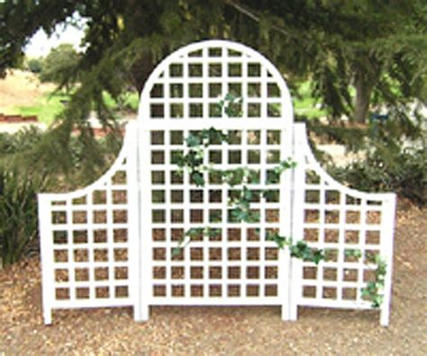 White Wood Trellis for wedding background wedding ideas
