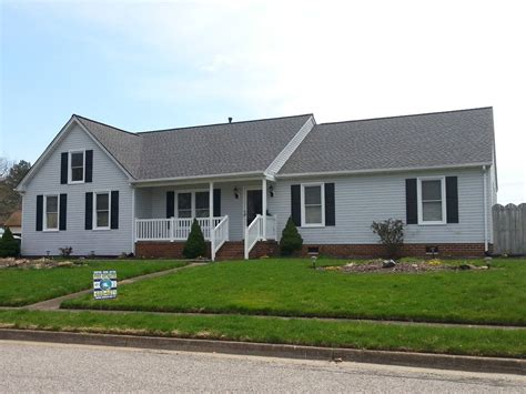 timberline pewter grey shingle with white siding gaf timberline hd for a traditional exterior with a white
