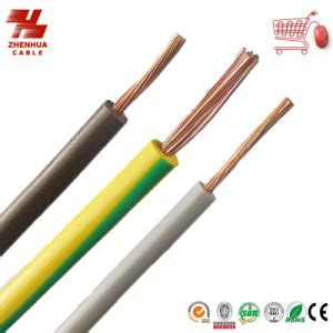electrical conductors and cables china electrical single wire with solid copper conductor pvc xlpe insulated bv china