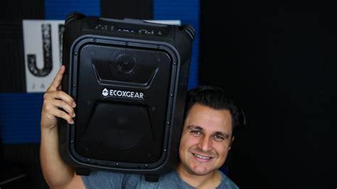 Speaker Bluetooth Portable Javi Sb003 ecoxgear eco boulder review sound check