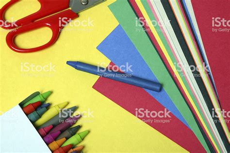 crafts arts and arts and crafts supplies stock photo image now
