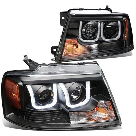 ford f150 halo lights 04 08 ford f150 06 08 lincoln mark lt 3d halo projector