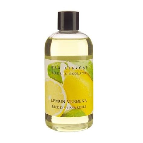 lemon verbena home fragrance diffuser lemon verbena fragranced reed diffuser refill made in