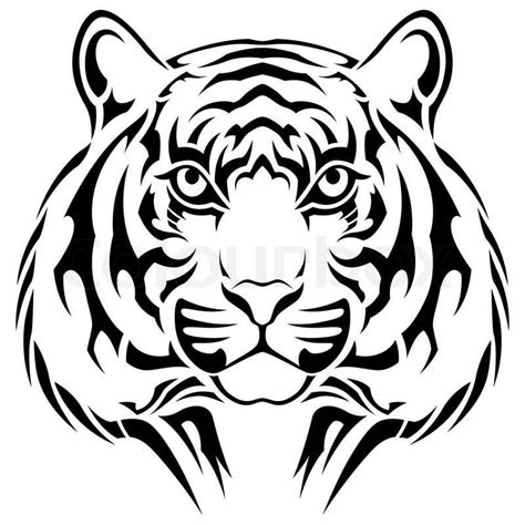 tribal tiger head tattoo 25 tribal animal designs