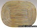 Placemat Pandan Nature Placemat Table Runner 3545cm Brownyellow rattan placemats from indonesia