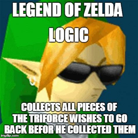Legend Memes - link deal with it imgflip
