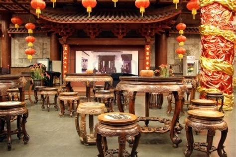 china tea house inside traditional chinese tea house in hangzhou china stock tea house in