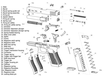 glock exploded diagram 40 glock schematic diagram get free image about wiring