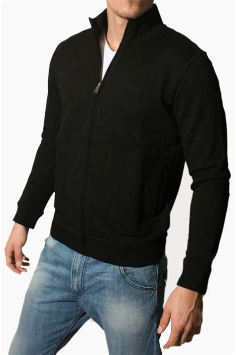 Hoodie Zipper Bmth True Friends C3 mens hugo black half zip cardigan sweatshirt in charcoal grey milo 03 50226003 010
