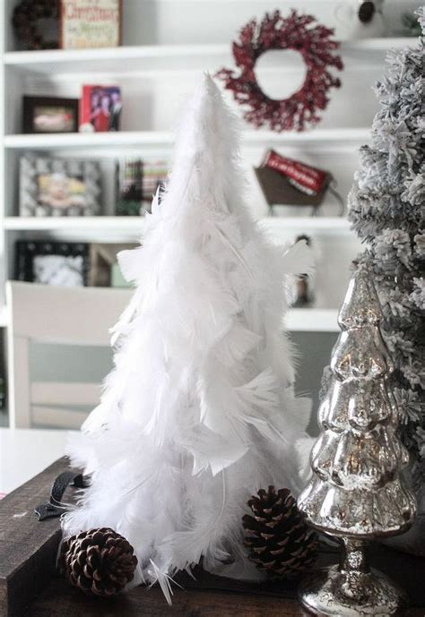 diy feather christmas tree hometalk