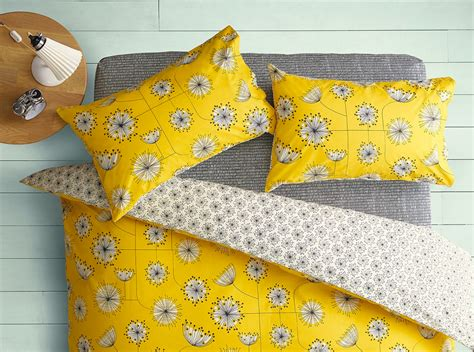 mustard yellow bedding missprint bedding perfect for the eclectic style bedroom